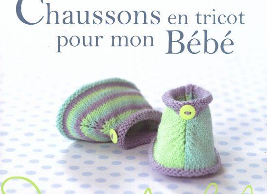 Chaussons en tricot pour mon bébé de C. Bouquerel… corrections de quelques erreurs…
