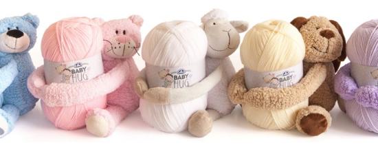 Baby hug, la grande nouveauté DMC pour bébé