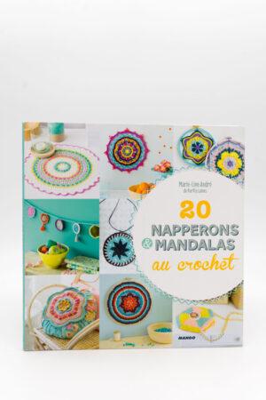 20 NAPPERONS & MANDALAS AU CROCHET de Marie-Line André (PurPle Laines)