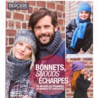 BONNETS, SNOODS & ECHARPES  de Bergère de France Editions Marie Claire