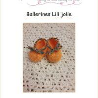 Patron ballerines Lili jolie 0-3 mois