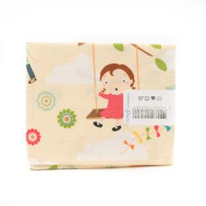 Coupon de tissu petits enfants qui jouent «Paritys» 45X55 cm