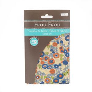 Coupon de tissu automne «frou-frou» 45X55 cm